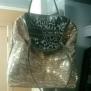 Gold & Silver Sequin Tote!!!
